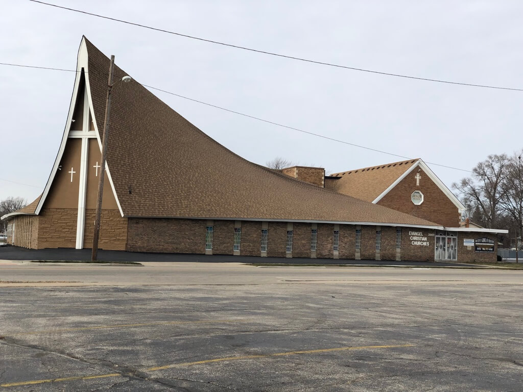 Evangel Christian Church - 16382 Harper Ave, Detroit, Michigan 48224 | Real Estate Professional Services