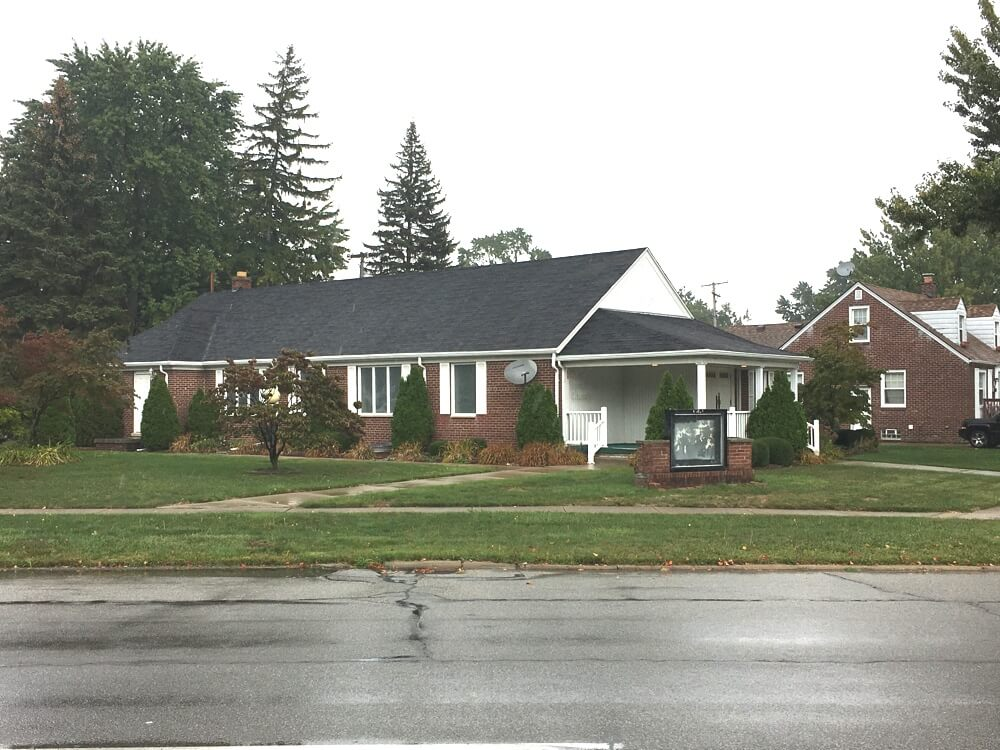 4,600 Square Foot Church Building - 20331 W Outer Drive, Dearborn, Michigan 48124 | Real Estate Professional Services