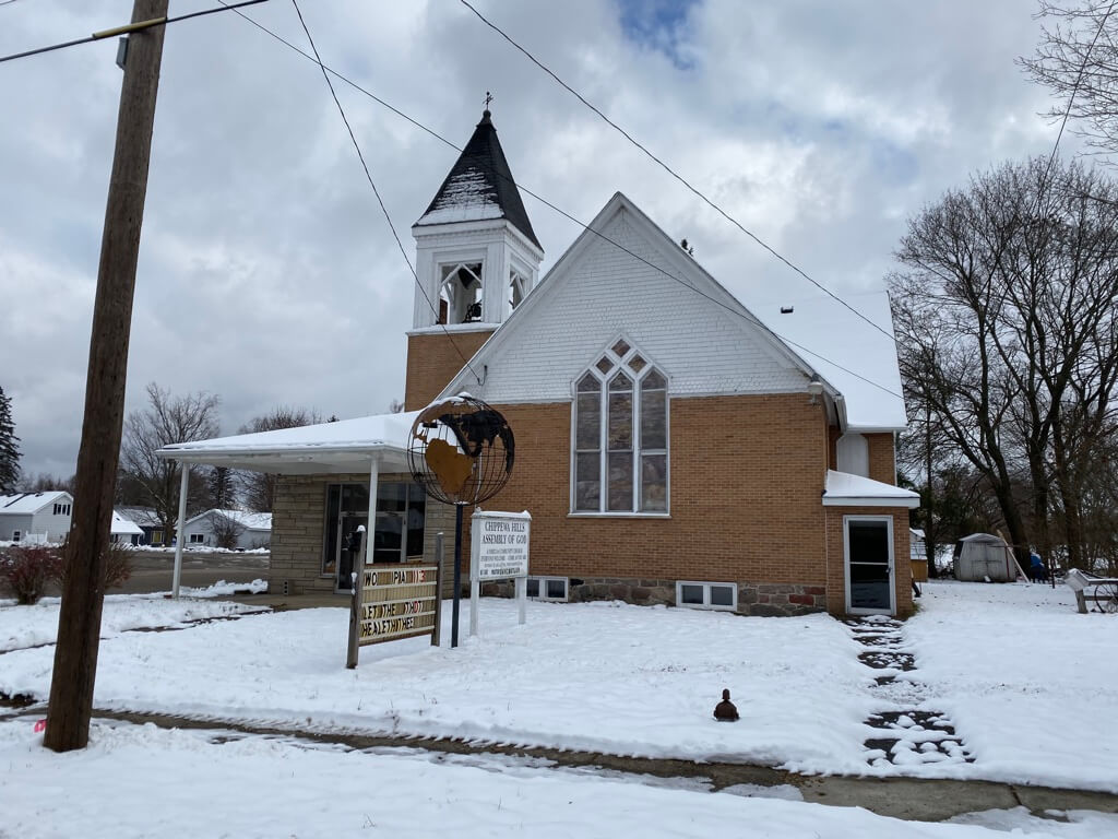 Chippewa Hills Assembly of God - 307 S. Sheridan (M-66), Remus, MI, 49340, Remus, Michigan 49340 | Real Estate Professional Services