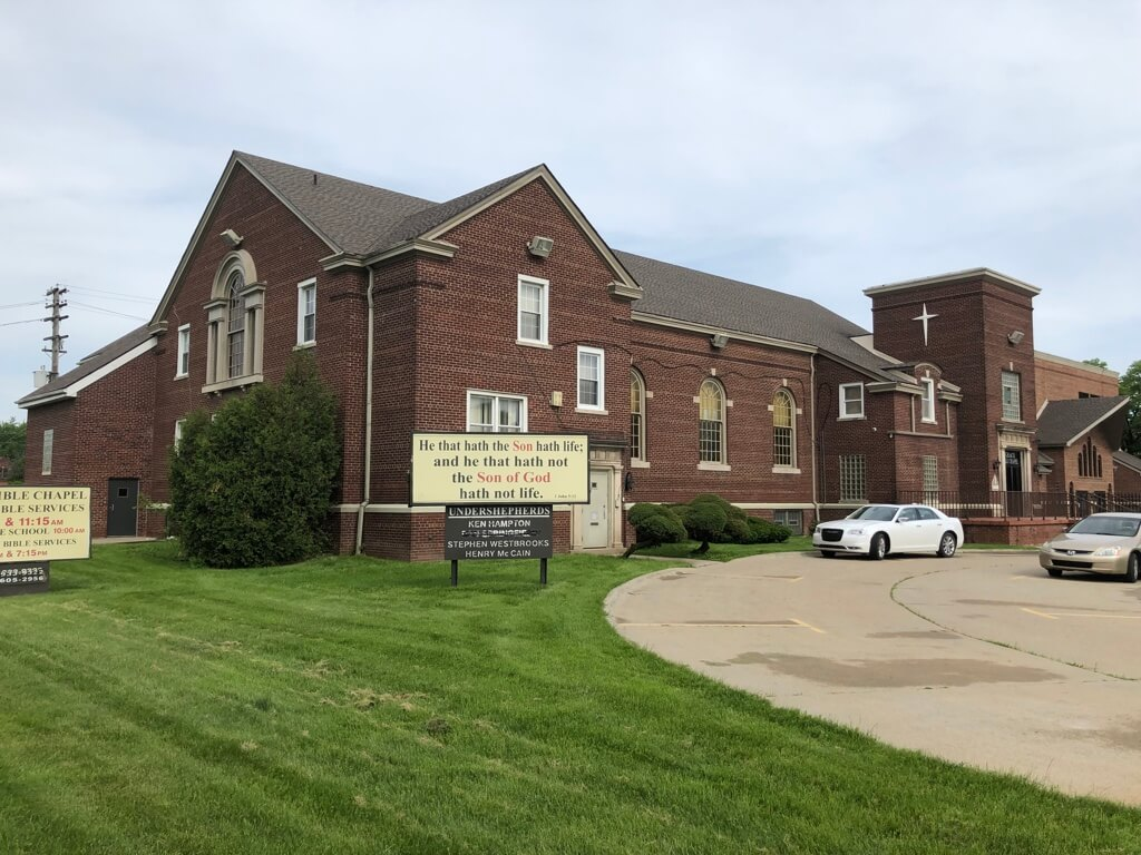 Grace Bible Chapel - 5440 Oakman Blvd, Detroit, Michigan 48204 | Real Estate Professional Services