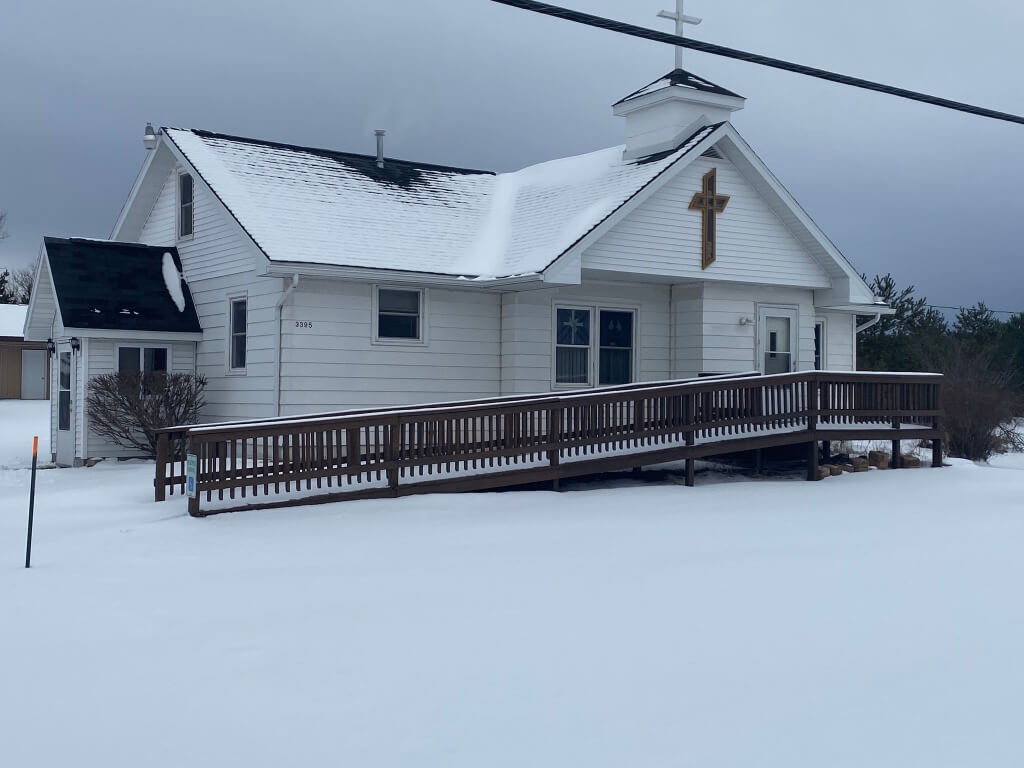 Former Faith Lutheran Church - 3395 E. M-72, Harrisville, Michigan 48740 | Real Estate Professional Services